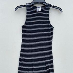 H&M Bodycon Striped Dress